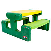 Little Tikes Large Picnic Table Evergreen