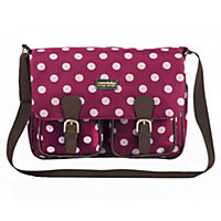 Constellation Berry Spot Flight Satchel