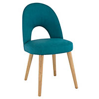 Copenhagen Upholstered Chair Teal