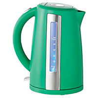 Sainsbury's Colour 1.7L Green Jug Kettle