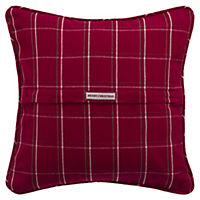 Christmas Red Check Cushion