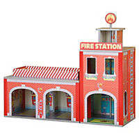 Plum Ingham Fire Station Play Set