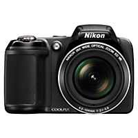 Nikon Coolpix L320 16 Megapixel 26x Zoom Black Digital Camera